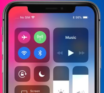 How to check Battery percentage in iPhone XS, iPhone XS Max