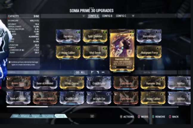 What is Soma prime build and how many types of soma prime?