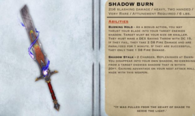 Shadow Blade 5e(Booming Blade 5e) What does it do?