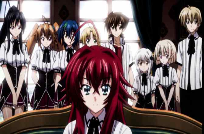 High School DxD Season 5 Release Date, Cast, Story, and Characters