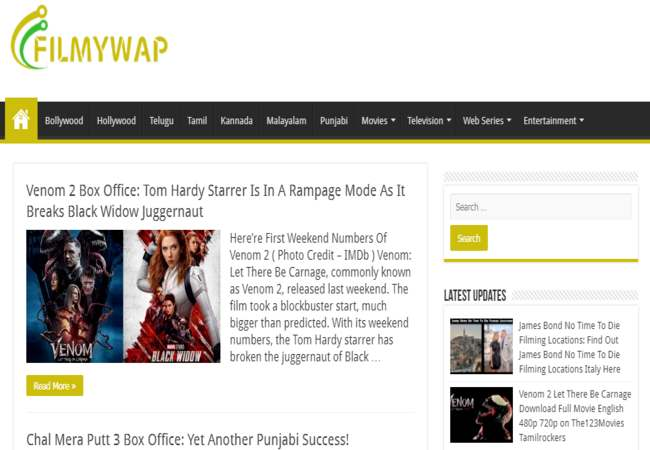 Filmywap 2021 – Famous and popular hub for download movies