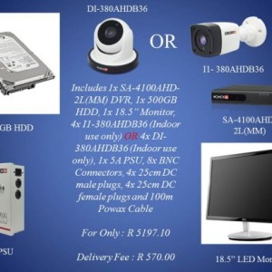 Provision-ISR DVR SA-4100AHD-2L(MM) 500GB