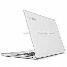 "Lenovo IP 320-15 15.6"" 8GB 80XL038PIV לבן"