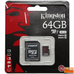 Kingston UHS-1 64GB