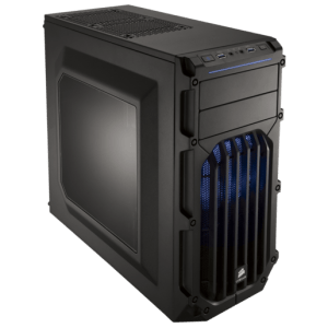 מארז ללא ספק CORSAIR SHADESPEC-03 BLUE ATX USB3x1 USB2x1