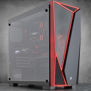 מארז ללא ספק CORSAIR SPEC-04 Tempered Glass ATX USB3x1 USB2x1
