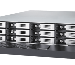 Thecus Enterprise Rackmount Storage solution 12-bay NAS with optional 10Gb Lan