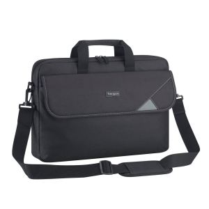"Intellect 15.6"" Topload Laptop Case - Black/Grey"