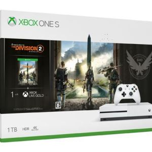 XBOX One S Console 1TB +The Division 2