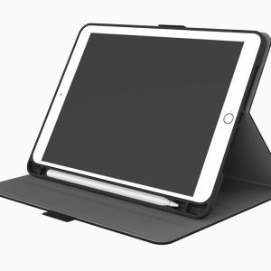 TekView with Apple pencil holder TPU shell - Grey/ Black - iPad 9.7''