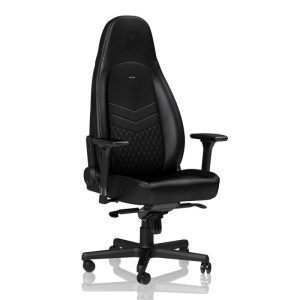 Noblechairs ICON Real Leather Gaming Chair Black