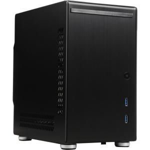 LIAN-LI Mini-ITX Case PC-Q21B Aluminum Black