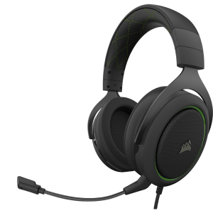 Corsair HS50 PRO Stereo Gaming Headset - Green