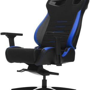 Vertagear Racing Series P-Line PL4500 Gaming Chair Coffee Fiber With Silver Embroirdery Black/Blue Edition