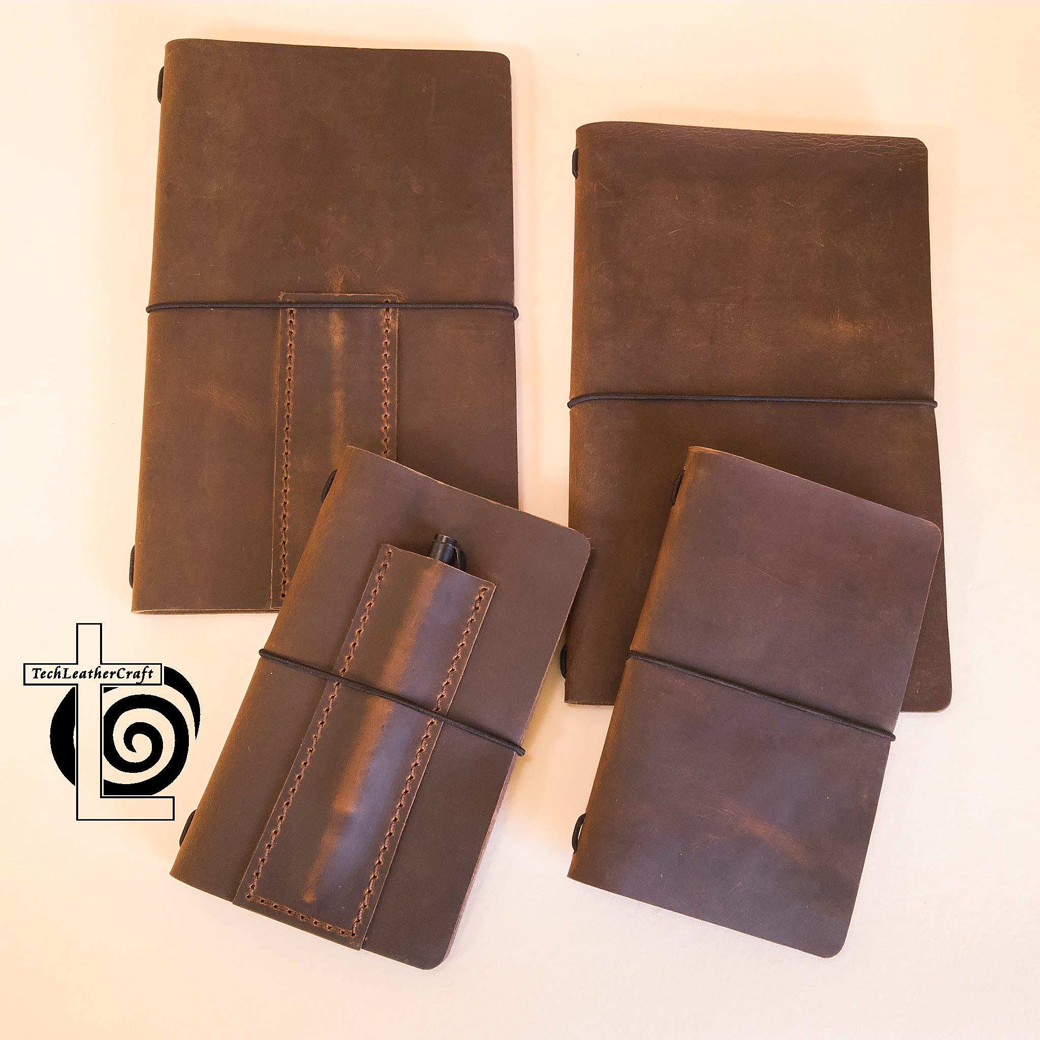 leather moleskine field notes