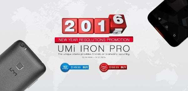 UMi Iron Pro price reduced