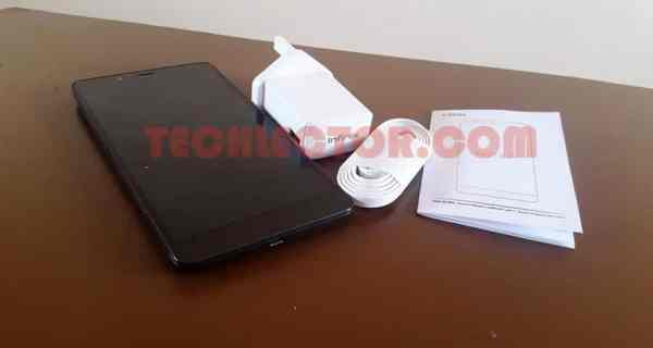 Infinix Note 2 Box Contents