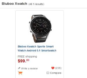 Bluboo Xwatch photo 2