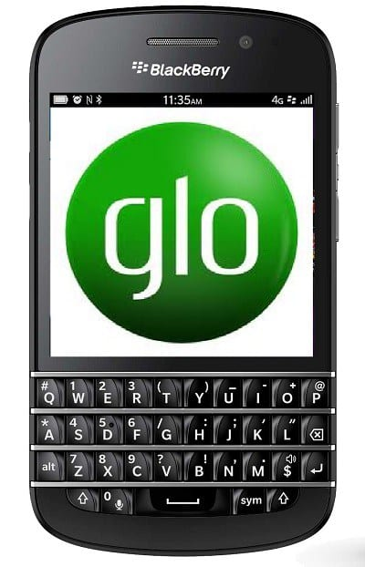 Glo Configuration Settings For All BB10 Devices