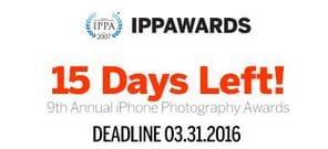 iPhone Photography Awards 2016 deadline