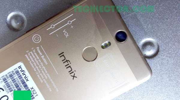 Infinix HOT S Fingerprint scanner