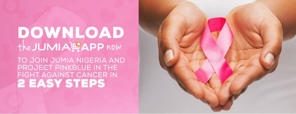 Join Jumia to fight against Breast Cancer just by downloading the Jumia app