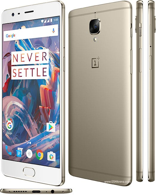 OnePlus 3T With Nougat 7.0 OS, 6GB RAM & Price Online