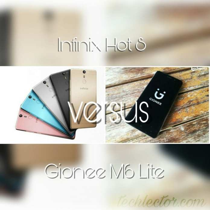 Infinix Hot S vs Gionee M6 Lite