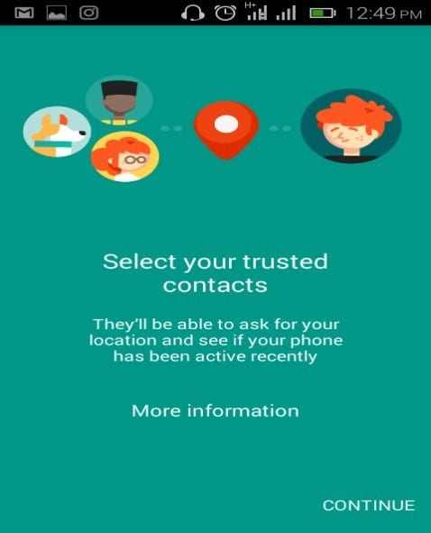 Trusted Contacts review 4