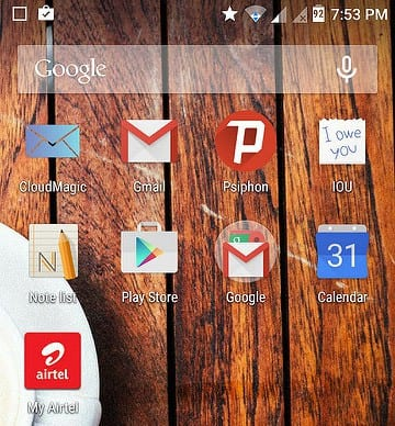 how to change notification bar in android