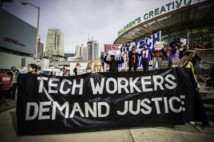 tech workers protest trump 3788