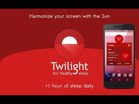 Twilight Android app