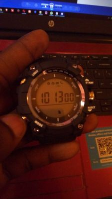 No.1 F2 Smartwatch Altimeter