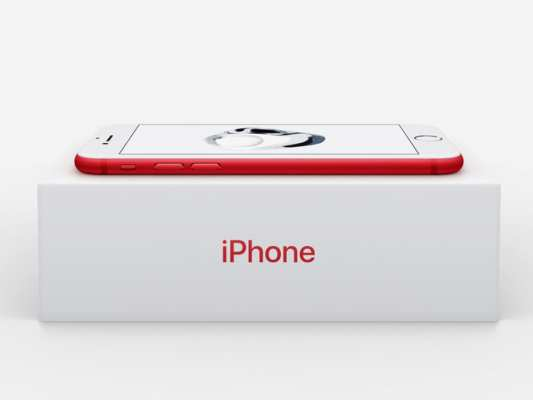 RED iPhone 7 and iPhone 7 Plus pack