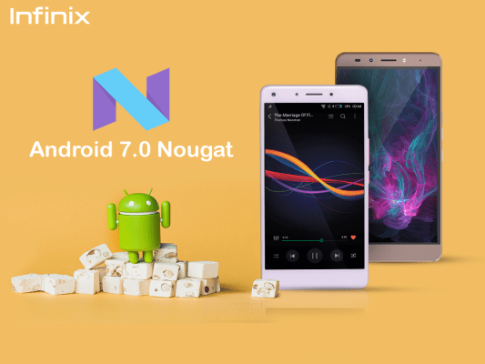 Infinix Hot 4 Android 7.0 nougat update