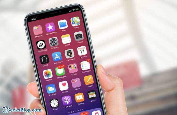 How to Remove or Hide iPhone X Notch