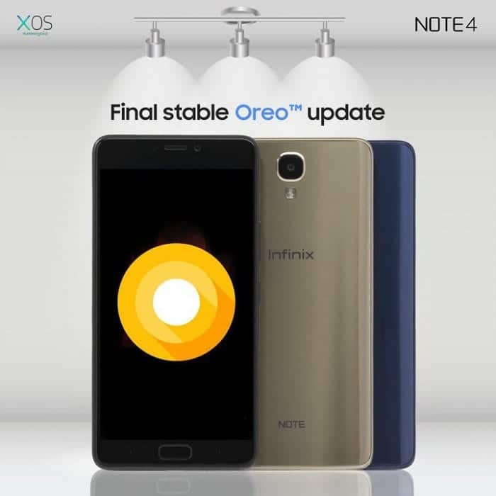 How to Update Infinix Note 4 & Note 4 Pro to Android 8 0 Oreo
