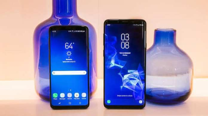Samsung Galaxy S9 and S9 Plus 4