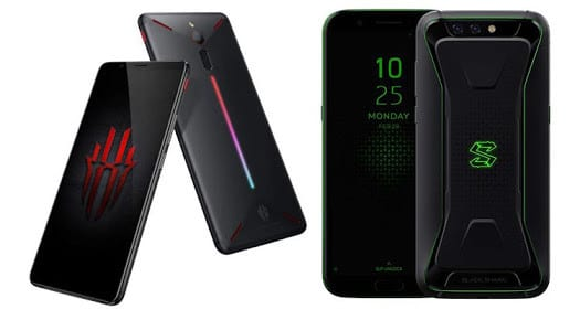 Xiaomi Black Shark vs ZTE Nubia Red Magic