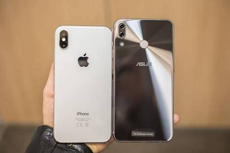 Asus Zenfone 5 VS iPhone X