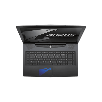 Keyboard and Touchpad of The Aorus X7 v6