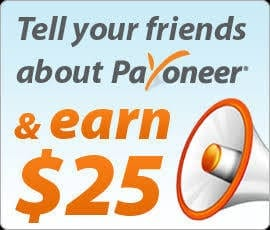Payoneer referral Link