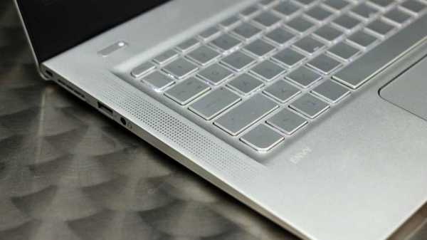 HP Envy 13's keyboard