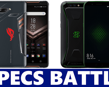 Asus ROG Phone VS Xiaomi Black Shark