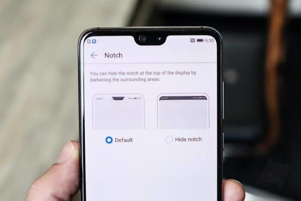 Hide the notch on OnePlus 6