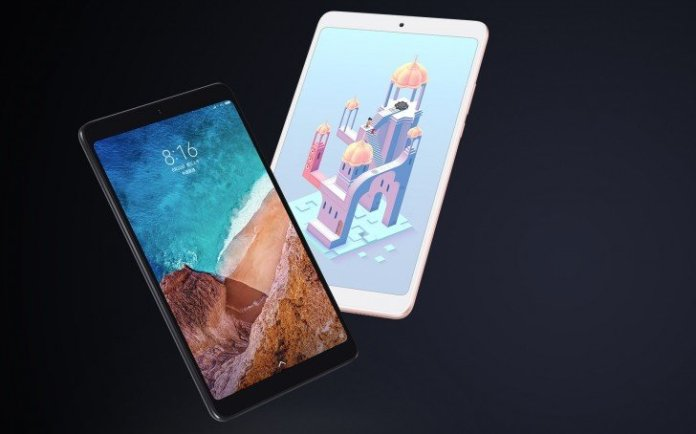 Xiaomi Mi Pad 4 with Snapdragon 660 processor and 6600 mAh battery