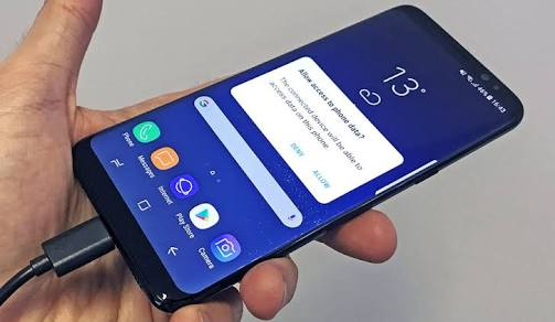 Samsung Galaxy phone won't connect to PC