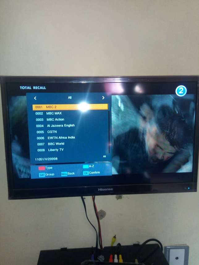 TSTV Channels List, Frequencies and Symbol rates: 2019