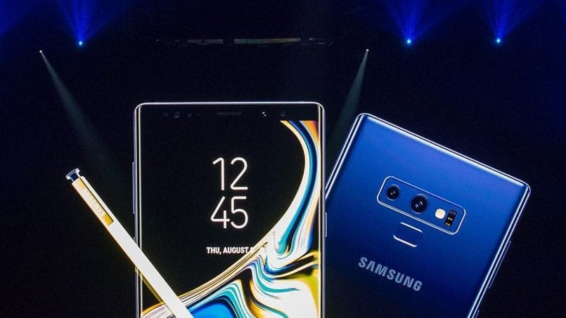 Pre-ordered Samsung Galaxy Note 9 512GB Blue and Get Free Vacuum Cleaner