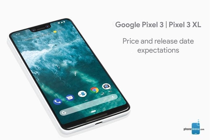 There could be a Pixel 3 XL with no notch, no chin